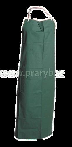 Zástěra PVC zelená 120 x 90 cm