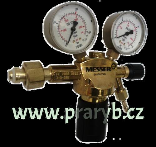 Redukční ventil na kyslík.bombu Constant 2000, O2 200/10bar