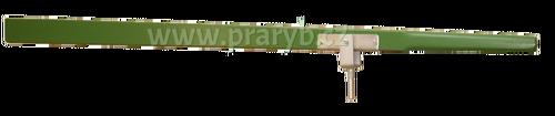 Veslo pramicové délka 195 cm s pozinkovaným kováním