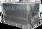 Bedna přepravní hliníková prolisovaná 2,14(2) x 1 x 1 m na živé ryby, objem 2 m3