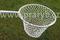 Keser kaprový pozinkovaný rám výplet ruční oka 30/2 mm hloubka 53 cm, oblouk - průměr 43 cm