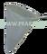 Planktonová síťka na tyč s nerezovým rámem průměr 40 cm, hloubka 55 cm